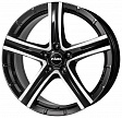 Rial Quinto R19x9J 5x150 ET50 DIA110.1 Diamant black front polished - diamant black front polished