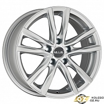 MAK Milano R16x6.5J 5x112 ET45 DIA76.1 Black Red Face