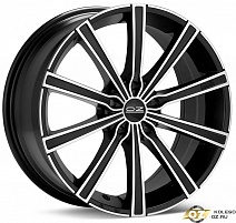 OZ Lounge 10 R17x7.5J 5x112 ET50 DIA75 Matt Black + Diamond Cut