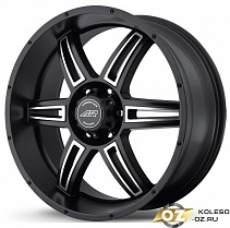 American Racing AR890 R17x8J 5x139.7 ET0 DIA108 Black/Machined