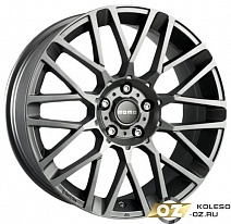 MOMO REVENGE R17x7J 4x100 ET42 DIA67.1 Matt Black-Polished