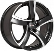 Alutec Shark R16x7J 5x115 ET38 DIA70.2 Racing black front polished - racing black front polished