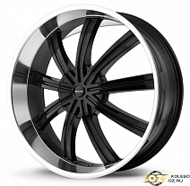 KMC KM672 R20x8.5J 5x114.3 ET38 DIA72.56 Black/Machined