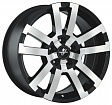 Fondmetal 7700-1 R18x8.5J 5x108 ET45 DIA63.4 Black polished - black polished