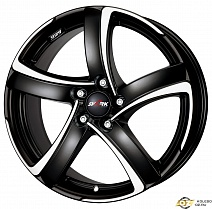 Alutec Shark R18x8J 5x115 ET45 DIA70.2 Racing black front polished
