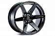 Cosmis Racing S1 R18x9.5J 4x114.3 ET15 DIA73.1 Black W/MS+ML - black w/ms+ml